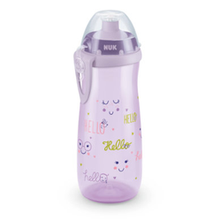 NUK Trinkflasche Sports Cup Girl, 450ml