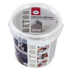 Rayher Gießpulver Kreativ-Beton 1,0 kg