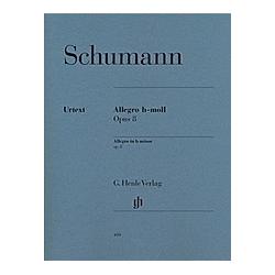 Allegro h-Moll op.8  Klavier. Robert - Allegro h-moll op. 8 Schumann  - Buch