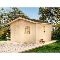 Gartenhaus 2-Raum-Elementhaus Holli, ohne Imprägnierung
