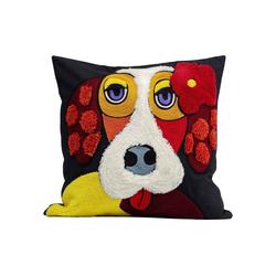 KARE Dekokissen Kissen Make Up Dog 45x45