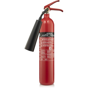 Smartwares Kohlendioxid/CO2-Feuerlöscher (2 kg, Brandklasse 34B, Inklusive Montagehalterung, CB2)