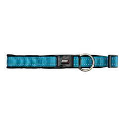 Hundehalsband Safe & Soft blau, Breite: ca. 10 mm, Länge: ca. 25 - 28 cm - ca. 25 - 28 cm