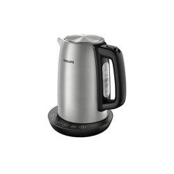 Philips Wasserkocher HD 9359/90 Wasserkocher Avance Edelstahl Wasserkocher, 1.7 l, 2200 W