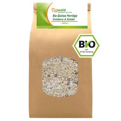 BIO Quinoa Porridge - Cranberry & Schoko 400g