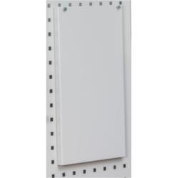 Adapter für DURABLE-Prospekthalter für Format DINA4 Querformat, RAL 7035