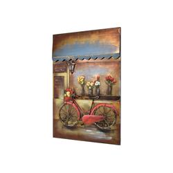 MÖBEL IDEAL Metallbild Fahrrad, Fahrrad