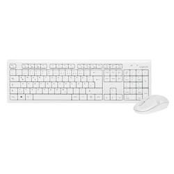 LogiLink Tastatur- und Maus-Set, kabellose Tastatur und Maus Set wireless Funk QWERTZ, 1000dpi Maus, 13 programmierbare Hotkeys für Multimedia