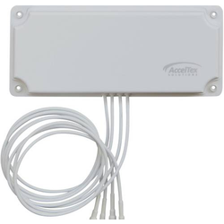 Acceltex Solutions 2.4/5GHz 6 dBi 4 Element Indoor/Outdoor Patch Antenna with RPTNC Antenne 6 dB 2.4