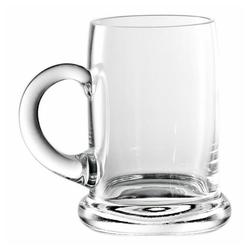 Eisch Bierkrug Seidel 500 ml, Kristallglas beige