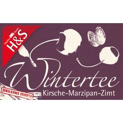 H&S Wintertee Kirsche-Marzipan-Zimt Filterbeutel 20X2.25 g