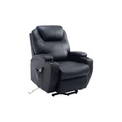 HOMCOM TV-Sessel Elektrischer Fernsehsessel mit Aufstehhilfe