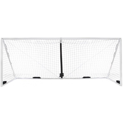 iGOAL Aufblasbares Fußballtor 600 x 200 cm weiß 600 x 200 cm - Weiß