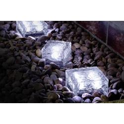 Polarlite Solar-Dekoleuchte Eiswürfel (B x H x T) 70 x 50 x 70mm LED 0.08W 1St.