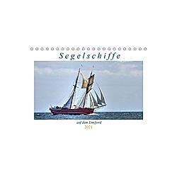 Segelschiffe auf dem Limfjord (Tischkalender 2021 DIN A5 quer)