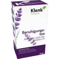 BERUHIGUNGSTEE III 75 g