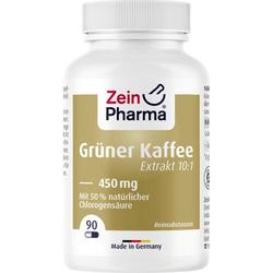 GRÜNER KAFFEE Extrakt 450 mg Kapseln 90 St