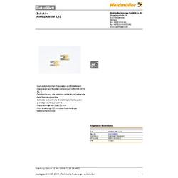 Weidmüller AIMESA VRM 1,13 2007340000 Abisoliermesser-Ersatzmesser