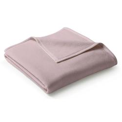 Wohndecke Uno Cotton rosa, BIEDERLACK, Decke