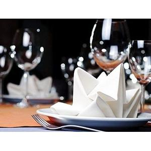 Unbekannt Serviette Servietten Stoffservietten Hotel Hochzeit Tischdeko 35x35 Polyester