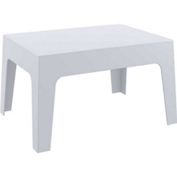 CLP Gartentisch Box Kunststoff I Stapelbarer Beistelltisch I Wetterfester Outdoor-Tisch