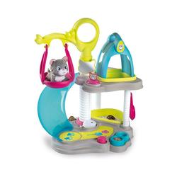 Smoby Tier-Beschäftigungsspielzeug Katzenhaus - Spielset mit Katzenbaby