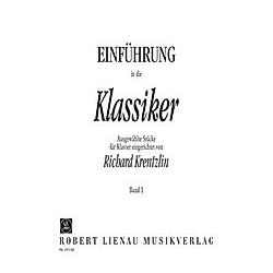 Einführung in die Klassiker  Klavier - Buch