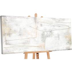 YS-Art Gemälde Goldenes Schleife PS097
