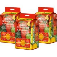 Floragard Aktiv Tomaten- und Gemüseerde 3 x 20 l