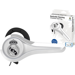 Subsonic Gaming-Headset und Headset Offizielles Lizenzprodukt Real Madrid kompatibel mit Playstation 4 – PS4 Pro – PS4 Slim – Xbox One – PS3 – Smartphone – Tablet – iPhone 4 – iPhone 5 iPhone 6