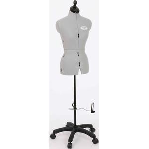 Clarie Schneiderbüste Celine A Standard Plus grau Zubehör für Nähmaschinen Haushaltsgeräte Schneiderpuppen