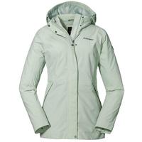 Schöffel Damen Jacket Eastleigh L winddichte, sea foam, 46