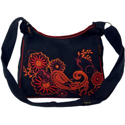 Guru-Shop Schultertasche Schultertasche, Hippie Tasche, Goa Tasche -.. 28 cm x 23 cm x 12 cm