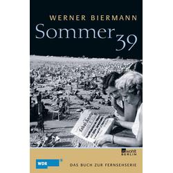Sommer 39 als Buch von Werner Biermann