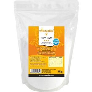 Wiezucker Zuckerersatz X, 100 Prozent Xylit, 1kg