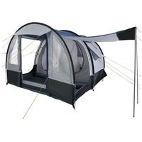 CampFeuer Campingzelt Smart schwarz/blau/grau