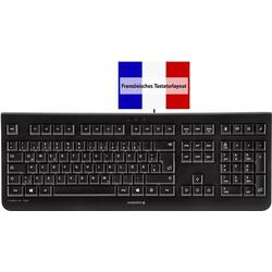 Cherry Tastatur KC 1000 Schwarz Französisch, AZERTY