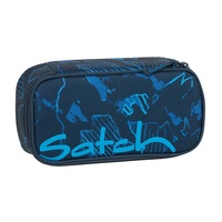 Satch Schlamperbox blue compass
