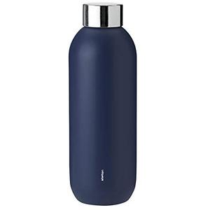 Stelton Keep Cool d. Steel Drinking Bottle, 0.6 l. - Midnight Blue
