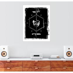 Posterlounge Wandbild, Harry & Voldemort - Duell 60 cm x 80 cm
