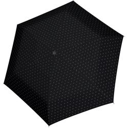 Tamaris Taschenregenschirm Tambrella Light, Minimals Black, Ultraleicht