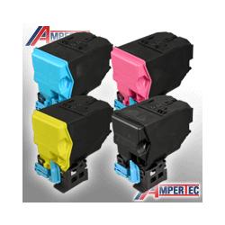 4 Ampertec Toner für KM Bizhub C25  Farben nach Wahl