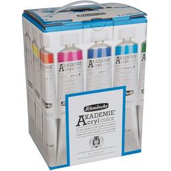 Schmincke Kreativset LIMITED Edition Schmincke AKADEMIE Acrylfarben Set mit 9 x 200 ml, (Spar-Set, 9-tlg)