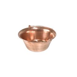 acerto® Feuertopf acerto® Gulaschkessel aus Kupfer - 14 Liter