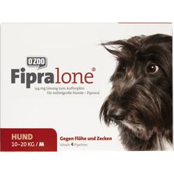 FIPRALONE 134 mg Lsg.z.Auftropf.f.mittelgro.Hunde 4 St