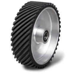 Metallkraft Kontaktrad für Metallbandschleifmaschine MBSM 150-200-2 - Kontaktrad