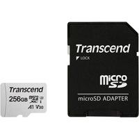 Transcend microSDXC 256GB Class 10 300S UHS-I U3 V30 + SD-Adapter