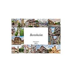 Bensheim Impressionen (Wandkalender 2021 DIN A4 quer)