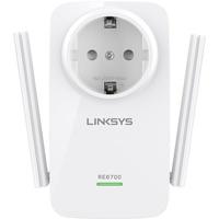 Linksys AC1200 DualBand Wi-Fi Range Extender (RE6700-EG)