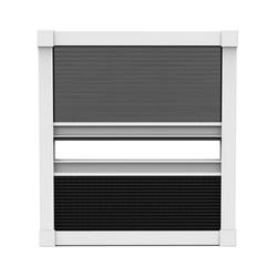 Insektenschutzplissee Nematek Fliegengitter Plissee für Dachfenster Insektenschutz Dachfensterplissee in weiß in verschiedenen Größen und Varianten, Nematek